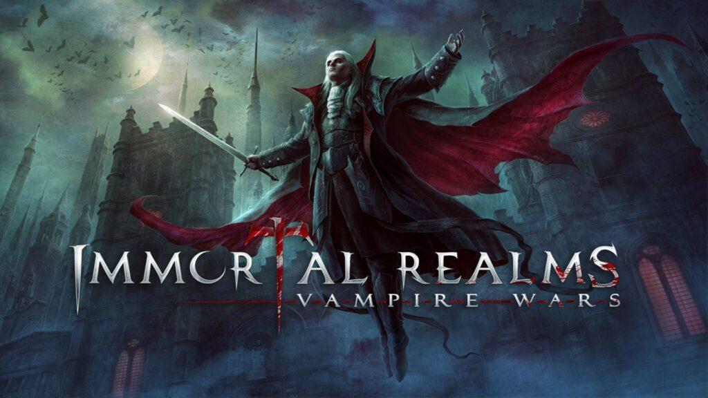 Immortal Realms: Vampire Wars главный арт игры