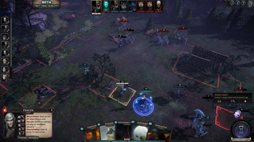 Immortal Realms: Vampire Wars сетевой режим карточная игра Немир релиз