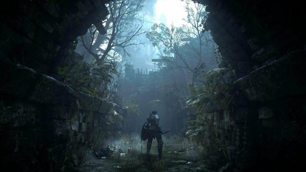 Demon Souls Remake обновленная графика, ремейк