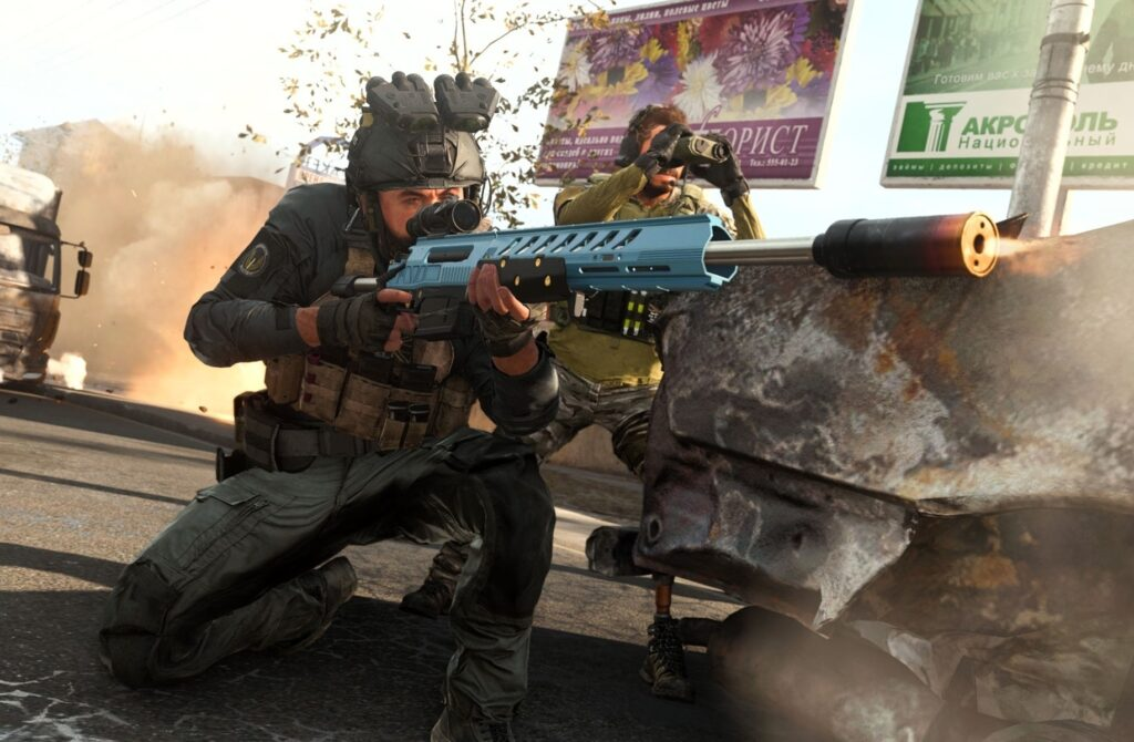 Долгожданное обновление в  Call of Duty Modern Warfare и Warzone