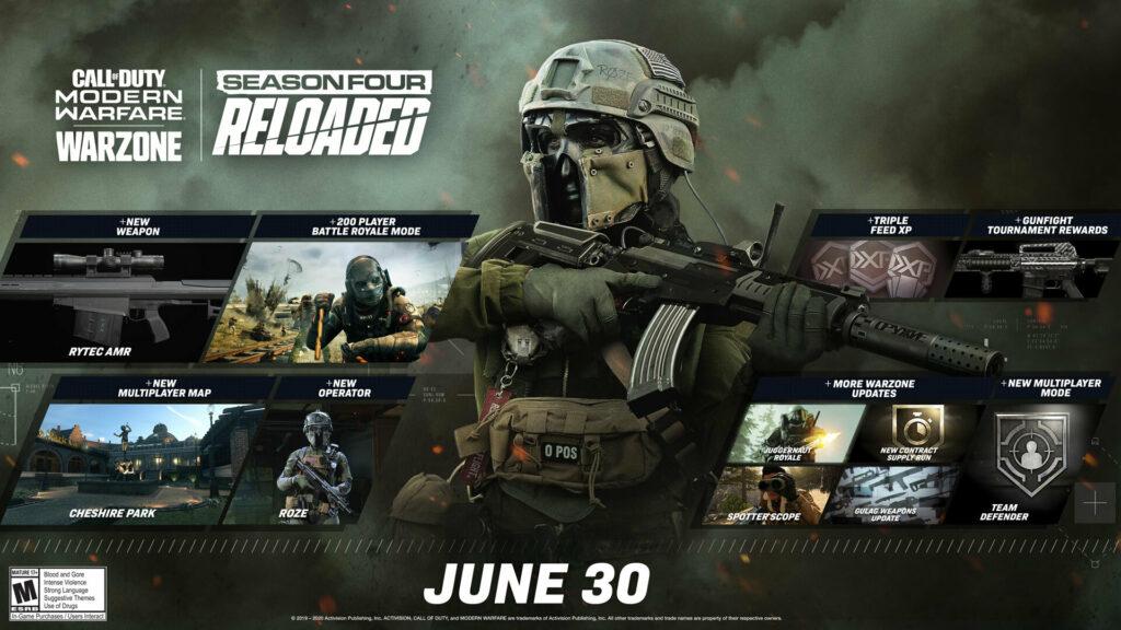 Что нас ожидает в 4 сезоне Warzone