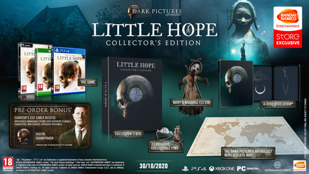Коллекционное издание The Dark Pictures: Little Hope