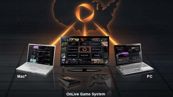 Onlive - первый сервис для игры в облаке