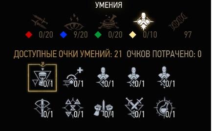 Ведьмак 3 гайд все умения
