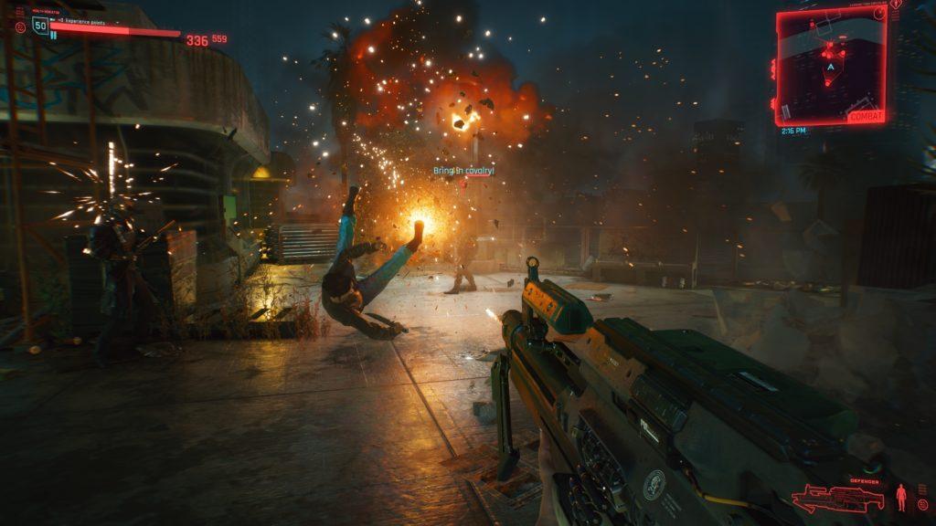 Night City Wire с новым оружием