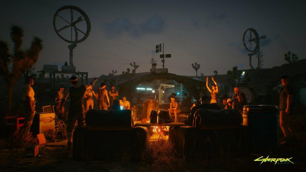 Cyberpunk 2077 Night City Wire  лагерь сопротивления