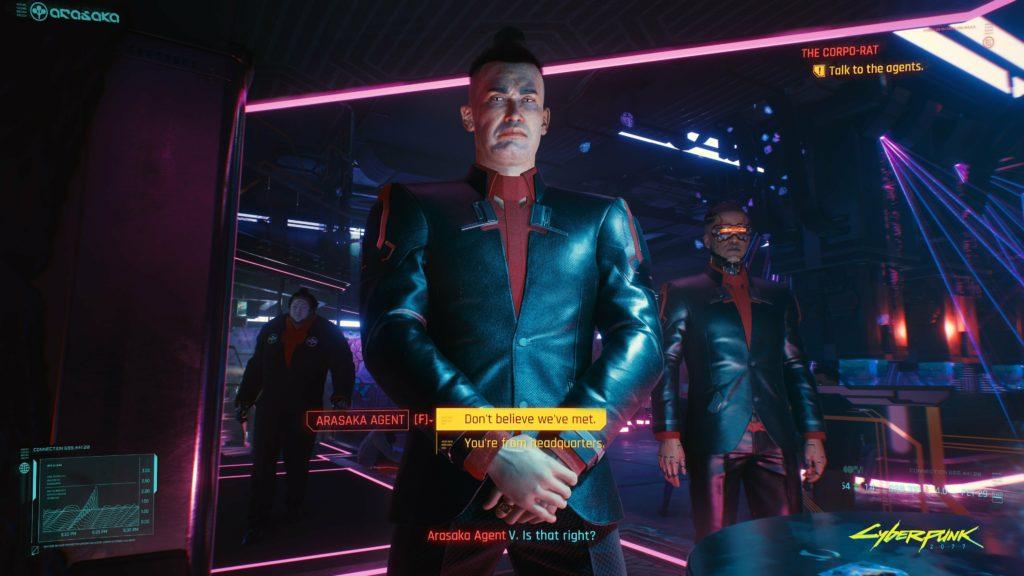 Cyberpunk 2077 Night City Wire  босс