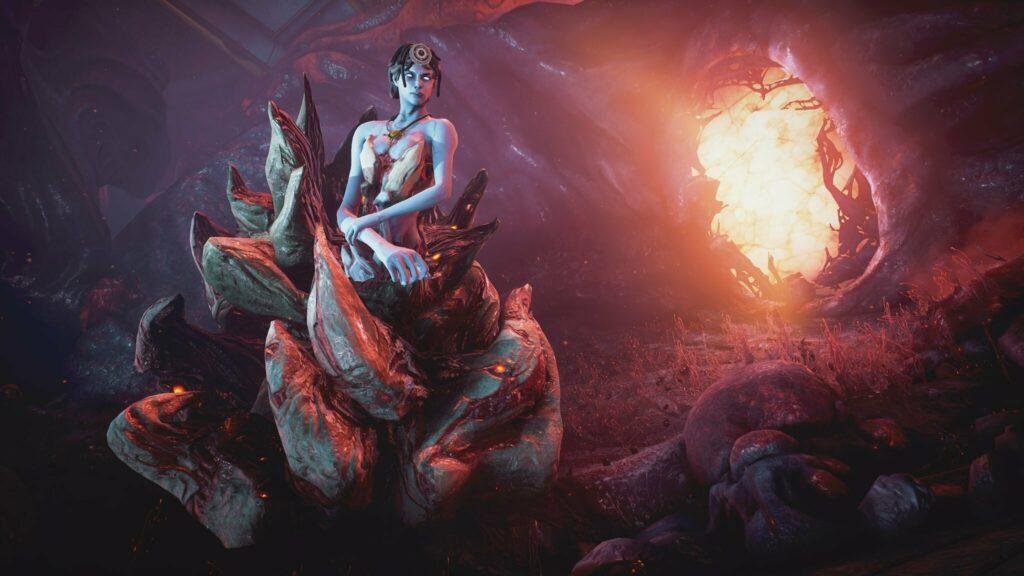 Красивые монстры в Warframe : Heart of Deimos
