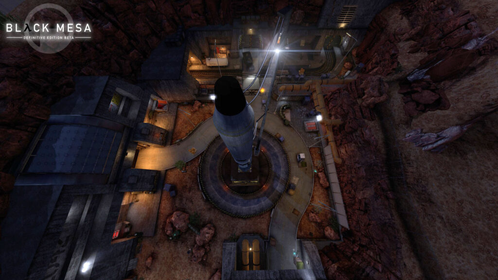 Скриншоты Black Mesa Definitive Edition.