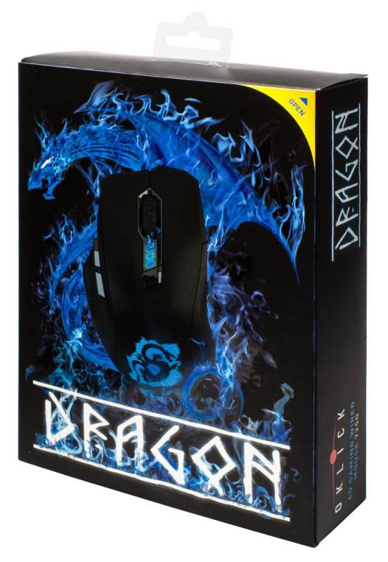 Оklick 725G Dragon - запечатанная упаковка