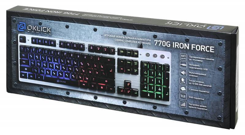 Oklick 770G IRON FORCE - закрытая упаковка