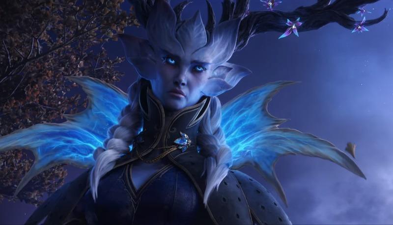 В Shadowlands появятся новые персонажи, такие как Королева Зима или Денатрий