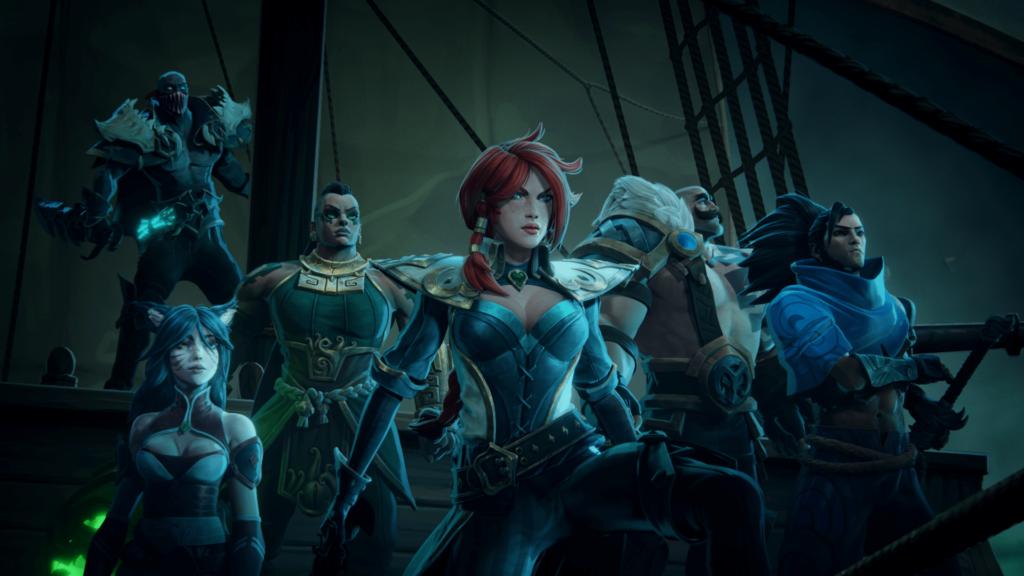Скриншот из трейлера Ruined Kings.