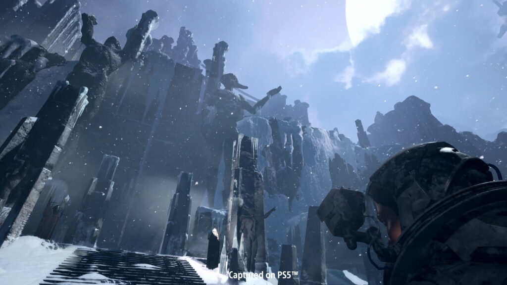 Внутриигровые скриншоты из Returnal на PS5